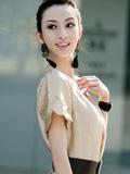 超时尚的东方美女