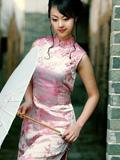 中国美女明星旗袍装